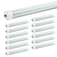 US Stock 8ft led tube T8 72W V- Shaped and Dural row Double S...