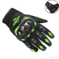 Unisexe Gants de moto d'été Respirant Moto équitation équipement de protection antidérapants Gants Guantes écran tactile guantes moto gant