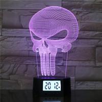 Luce illusione BRELONG 3D LED di notte, lampada da tavolo 7 colori che cambiano graduale tocco Switch USB o decorazioni domestiche 1 pc