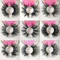 25mm long Mink eyelashes False Eyelashes Natural Long Fake E...