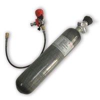 AC102301 Acecare New Hot à venda com Válvulas 2L alta pressão 4500psi fibra de carbono cilindro de mergulho Para Mergulho Submarino equipamento de respiração