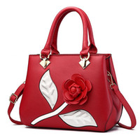 Borsa a tracolla Sling Donna Dolce Rose Flower Fashion Borse Elegante Messenger Crossbody Hand Bags Borsa per Lady Girl Bag Tote