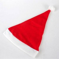 2000pcs New Christmas Supplies Cap Thick Ultra Soft Plush Sa...