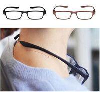 Conforto ultraleve cabresto óculos de leitura de suspensão estiramento WomenMen anti-fadiga HD presbiopia + 1,5 + 1.0 + 2,0 + 2,5 + 3,0 + 3,5 + 4,0