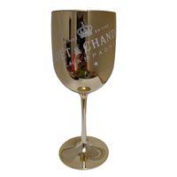 حزب النبيذ البلاستيك الأبيض الشمبانيا كشوفات كوكتيل الزجاج الشمبانيا المزامير كؤوس النبيذ قطعة واحدة