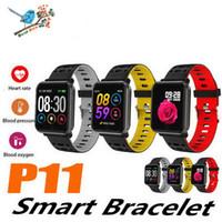 P11 smart watch rastreador de fitness freqüência cardíaca sono pressão arterial pk n88 smartwatch com caixa de embalagem de varejo bluetooth ip67 esporte pulseira