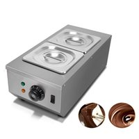 Vendita Calda All'ingrosso uso commerciale Hot Chocolate immersione macchina di fusione Cilindro elettrico Warmer Melter per la vendita