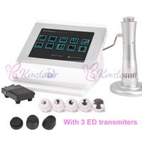 뜨거운 판매 전자기 물리 충격파 치료 미적 장비 충격파 치료 기계 통증 완화 기계 ED 기능