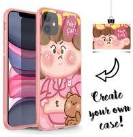 Fai da te personalizzati Personal Phone Case for iPhone 6S 6 7 8 11 Pro Plus X XS XR Max SE 2020 Retro Colori vetro temperato copertura del telefono a Picture
