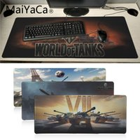 Maiyaca World Of Tanks Unico Desktop Pad Game Mousepad Grande Lockedge alfombrilla gaming Mouse pad gamer PC Computer mat