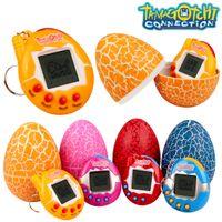 Tamagotchi Connection Dinosaur Surprise Egg Electronic Virtual Cyber Pet Bambini Giocattoli regalo