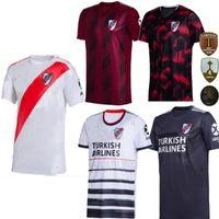 2020 River Assiette 70e Anniversaire Home 4rd AwaN Red Mens Sanchez Rodrigo Mora Camisa Uniforme De Futebol Football Shirts Jersey 2020