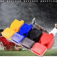 NEW ABS البلاستيك الرياضة الحكم الصافرة بقاء الطوارئ كيت لعبة كرة القدم في الهواء الطلق Tranning دروبشيب # 0404