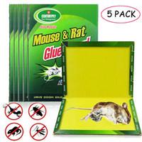 5 قطع لوحة الماوس لزجة الفئران الغراء فخ عالية فعالة القوارض الفئران الأفعى البق الماسك مكافحة الحشرات رفض غير سامة صديقة للبيئة