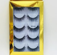 Free shipping 6D Mink Eyelashes Natural False Eyelashes Long...