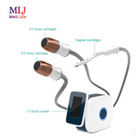 Il più efficace 2-in-1 v-max HIFU e vaginale strumento serraggio antirughe rassodante macchina della pelle per signora