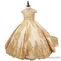 Nieuwe stijl baljurk prinses kleine meisjes Pageant jurken fuchsia kleine baby camo bloem meisje jurken met kralen