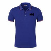 مصمم جديد أسلوب رجل لعبة البولو قميص الأعلى التطريز الرجال قميص قصير الأكمام القطن قمصان بولو شيرت الملابس هوت مبيعات الرجال