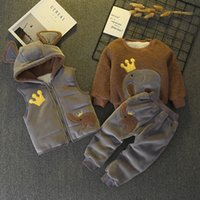 good quality boys winter clothing stes children boys cartoon...