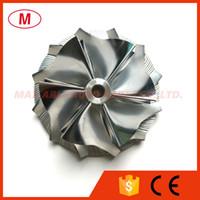 K04 42,00 / 56.08mm 6 + 6 lames de haute performance billettes roue de compresseur / aluminium 2618 / roue de fraisage pour turbocompresseur de cartouche / LCDP