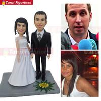 Figurine Turui personalizzati regali di nozze per gli ospiti Partito Decorazioni fai da te Partito Direzione segni scatola di caramelle regali di nozze souvenir