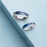 Кластерные кольца Thaya оригинальный дизайн S925 стерлинговые серебряные туманности S925 для женщин элегантные изысканные украшения