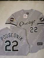 Cheap custom SCOTT PODSEDNIK 2005 WORLD Baseball Jersey GRAY...