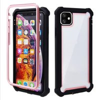 For Iphone 11 Armor Case Crystal Clear Hybrid Dual Layer Pro...