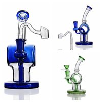 6' ' High Diffuse Perc Water Pipes Oil Rig Glass Bo...