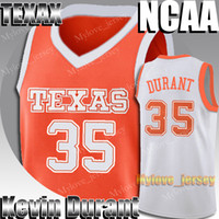 NCAA Texas University Kevin Durant 35 Jersey James Harden 13 Stephen Curry 30 Kawhi 15 Leonard Jerseys College Basketball Jersey