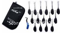 Forbici KLOM 16pcs strumenti di utensili a mano, utensili per serrature, attrezzi per fabbro