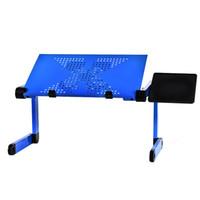 سبيكة طاولة كمبيوتر محمول قابل للتعديل المحمولة مكتب للطي الحاسوب للطلاب سكن الجدول حامل الكمبيوتر المحمول صينية للحصول على أريكة سرير