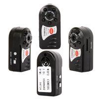 Portable mini wifi ip caméra IP Q7 WiFi WiFi WiFi IR Vision vidéo IR Visionnage caméra de sécurité Home Sécurité Caméscopes App Caméscopes Télécommande