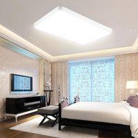 미국 재고 빠른 배달 72W 침실 부엌 빛이 조명 원격 제어 패널의 LED 빛 초박형 평방 현대적인 욕실