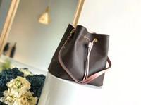 Mulheres Moda de luxo de couro genuíno Handbag Marca Designer Handbag Calf Único Shoulder Diagonal NÉONOÉ Handbag M44020 M44022 M43569 M44021
