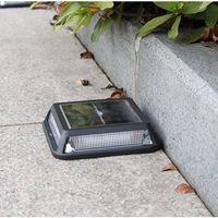 Square LED Solar Ground Beleuchtung 12 LEDs Treppen Straßenbeleuchtung Outdoor Sonnenlicht Yard Pfad Walkway Patio Garten Dekoration Licht