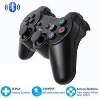 Wireless Bluetooth Gamepad تحكم المقود لمحطة اللعب 3 عصا التحكم وحدة التحكم ل Dualshock 3 Joypad PC Game Controller