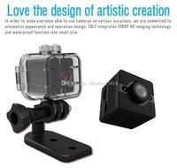 Su geçirmez Mini DV DVR Kamera SQ12 Full HD 1080P Kızılötesi Gece Görüş Mikro Video Kamera spor Araba DVR desteği hareket algılama