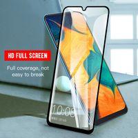 Полное покрытие закаленного стекла для Samsung A12 A72 A52 A51 A11 A21 A20 RevVL 4 One 5G ACE OnePlus Nord N10 5G Moto G Play 2021 Protector