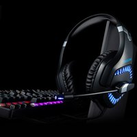 K1PRO headset computer gaming headset wired glow headset