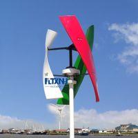 300 W 600 W 12 V 24 V 48 V Dikey Rüzgar Türbini Maglev Rüzgar Jeneratörü Ile 1000 W ile Izgara Kavrama Inverter Ev Kullanımı için