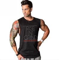 Bodybuilding Stringer Tank Tops Men Fitness Singlets Gyms Cl...