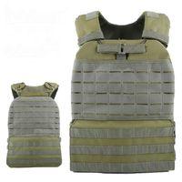 Chaleco táctico de entrenamiento Body Armor Cs Wargame Combat Paintball Chaleco Molle Plate Carrierr Chalecos