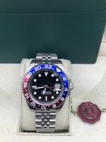 Reloj de buceo para hombre de zafiro automático 2813 GMT II Relojes Hombres Sport Batman Pepsi Master 116719 Blro Perpetual 116710 Relojes de pulsera Superlativa