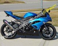 För Kawasaki Fairing Blue Ninja ZX6R 2009-2012 636 ZX 6R ZX636 ZX6R 09 10 11 12 Motorcykel Bodywork Part (formsprutning)