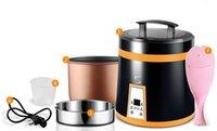 110V Mini cuiseur à riz électrique Fonction de réservation pour les étudiants Étudier à l'étranger 1.6L 018
