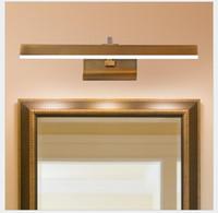 Moderna Specchio lampada 41CM / 51CM / 61CM impermeabile retro bronzo lampada da parete chiara della lampada LED luce del Governo Vanity Specchio Luci Led Wall