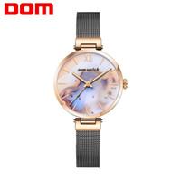 CWP Mulheres Relógios Dom Rose Gold Silver Ladies Pulseira Assista Womens Quartz Dress WristWatch Feminino Reloj Mujer Kol Saati