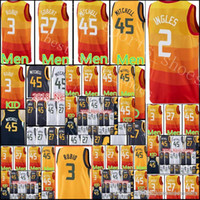 New Arrival. Men s 45 Donovan Mitchell 27 Rudy Gobert 3 Rubio 2 Ingles  Basketball Jerseys 2018 Youth Kid 45 Mitchell 3 Ricky Rubio Jersey 5b5ae445f