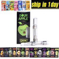 New Dank Vapes Black Flavor Box DANK Cartridge Packaging wit...